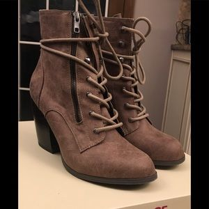 Dolce booties by Mojo Moxy